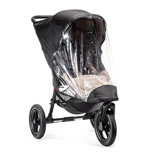 Baby Jogger BJ91351 City Elite Wetterschutz für Kinderwagen, transparent
