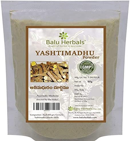 2 X Balu Herbals Yestimadhu Minneapolis Mall Outlet sale feature Glycyrrh Athimaduram Yashtimadhu -