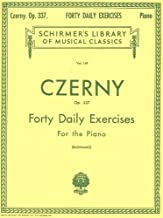 Czerny - 40 Daily Exercises, Op. 337