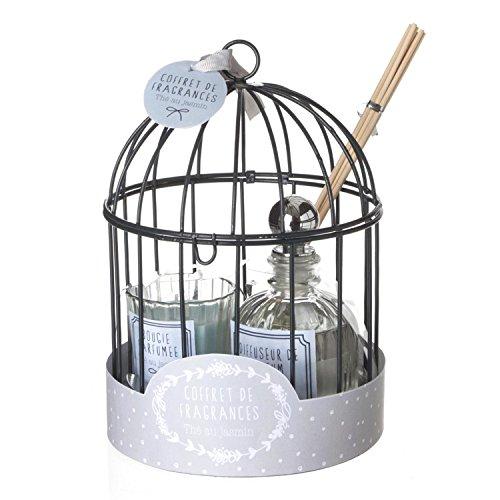 Atmosphera Coffret Cage avec diffuseur 100 ML - Thé au Jasmin