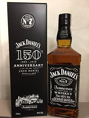 Jack Daniel's 0,70 lt. Limited Edition 150 th Anniversary + Metal Box