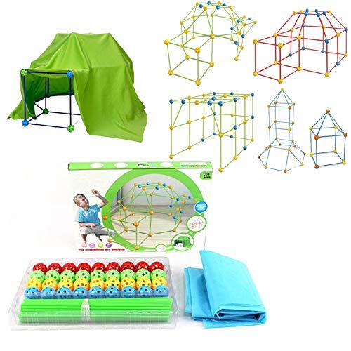 ZYW Carpa para Niños Carpa De Juego para Niños Carpa para Juegos De Castillo, Interior Y Exterior, Regalo para Niños para Niños Y Niñas