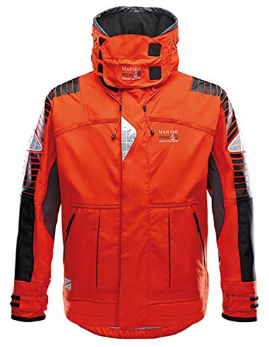 Marinepool Herren Segeljacke Ramsgate Offshore, orange, XXL