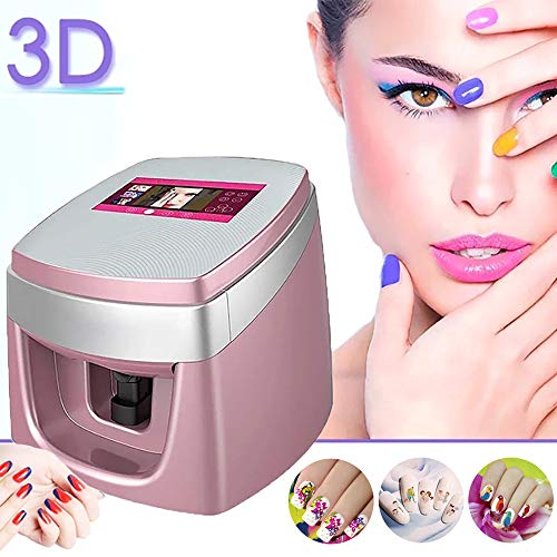 Multifunction 3D Digital Nail Art Printer Smart Nail Painting Machine Fast Nail Art Pattern Printer, with 7 Touch Screen Easy Support Wifi/DIY/USB Business First Choice