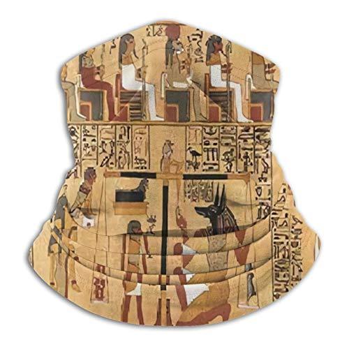 Custom made Bandana facial para cuello, reutilizable, lavable, pasamontañas para motocicleta, para hombres y mujeres, muerte en el antiguo Egipto