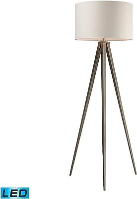 Diamond Lighting D2121-LED Floor lamp, Satin Nickel