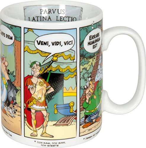 Könitz Asterix Tasse en latex Motif Carpe Diem, Höhe: ca. 10 cm, Durchmesser: ca. 9 cm