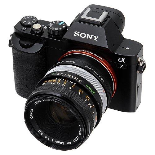 Fotodiox Anillo Adaptador para Canon FD, FD Nuevo, FL Lente para ...