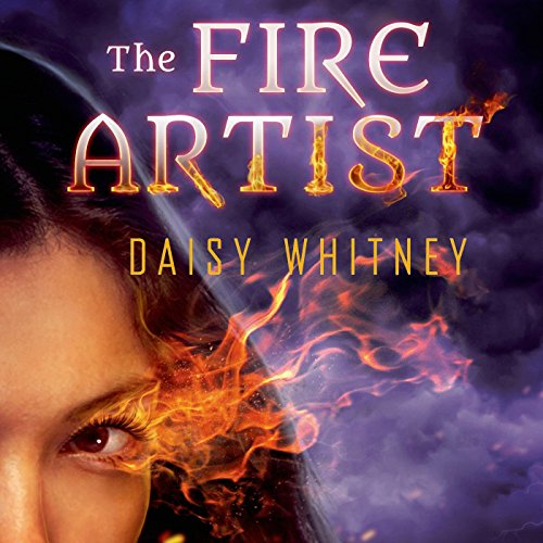 The Fire Artist audiobook cover art