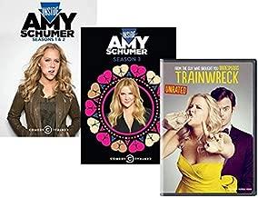 Amy Schumer Movies on DVD - Inside Amy Schumer: Seasons 1,2 & 3 + Trainwreck