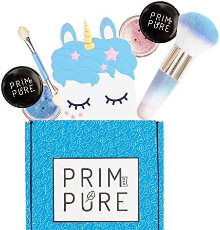 Prim and Pure Mineral Gift Set with Unicorn Mirror Perfect for Play Dates Birthday Parties Kids product image