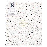 Großes Busy B Adressbuch – mit alphabetischem Register, Stickern & Steckfach