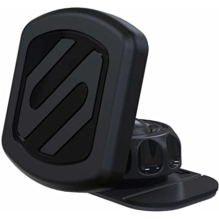 SCOSCHE MAGDMB MagicMount Universal Magnetic Mount Holder for Mobile Devices In Frustration Free Packaging, Black