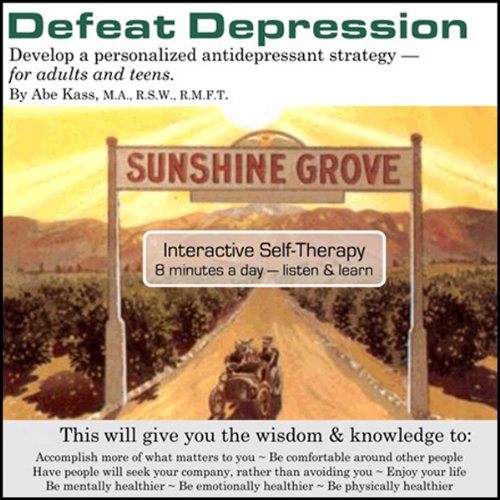 Defeat Depression audiobook cover art