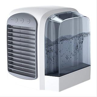LMDC Ventilador de Aire Acondicionado portátil Ventilador de Escritorio for el Dormitorio de la Oficina de la Sala de hogar (Color : Gray)