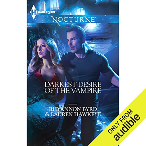 Darkest Desire of the Vampire audiobook cover art