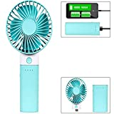 Citra F03 Portable Fan Battery Operated Personal Hand Fan Mini USB Rechargeable Handheld