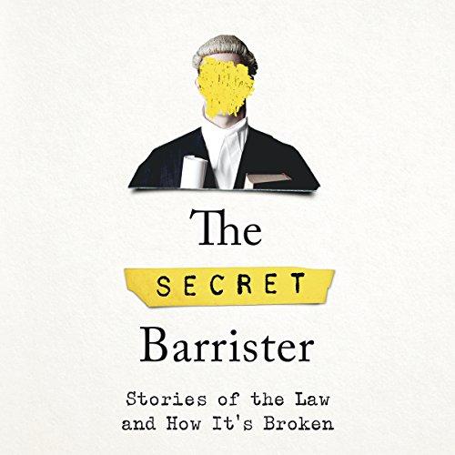 The Secret Barrister audiobook cover art