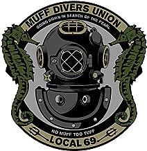 F-Bomb Morale Gear Muff Diver's Union - Bumper Sticker Decal