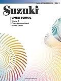 Suzuki Violin School, Volume 3: Piano Accompaniment (Suzuki Method Core Materials) Revised edition by Suzuki, Shinichi (1995) Paperback