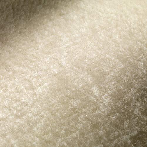 Imetec Scaldasonno Adapto Matrimoniale 150 x 160 cm, Riscaldamento rapido, Temperatura costante e personalizzata, 100% lana e merino, tessuto antiscivolo, 2 comandi separati, 6 Temperature