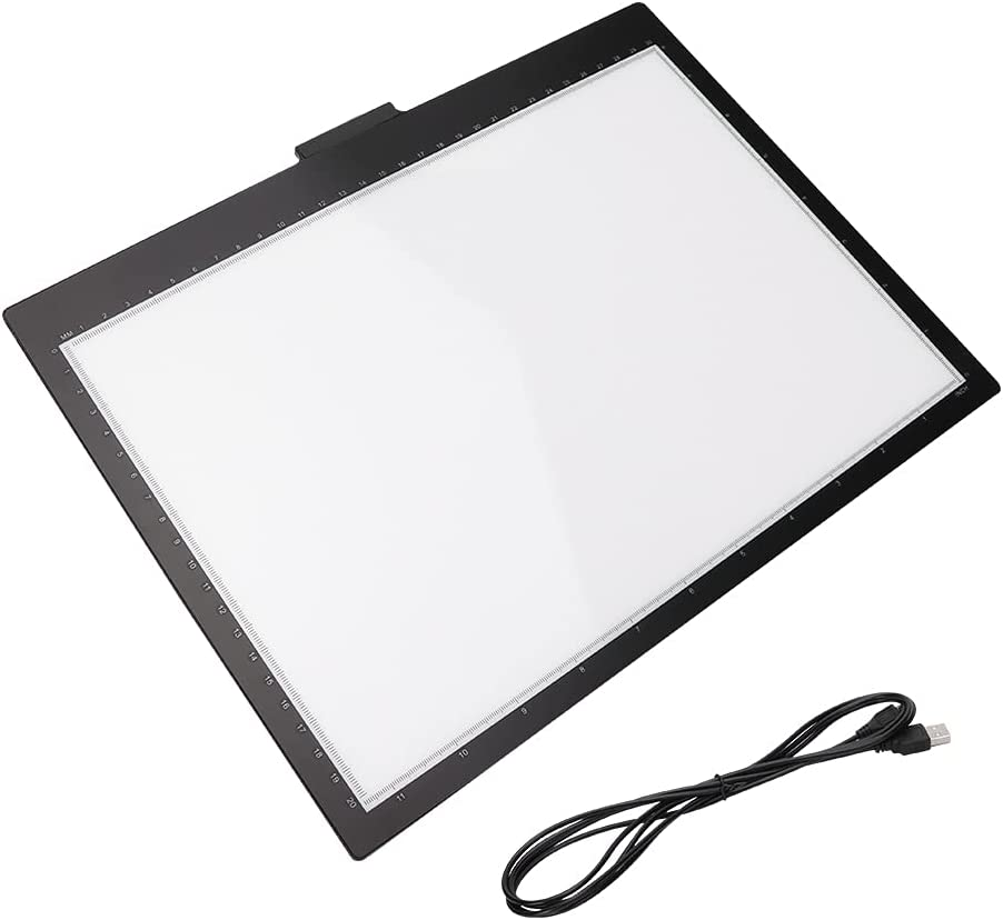 Black+White LED Drawing Board with Acrylic+Pc+Abs - M MIC USB Mesa Mall 2 Large special price !!