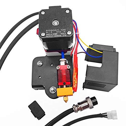 3d Impresora Accesorio, El nuevo reemplazo 1.75mm mejorada filamento Extrusora Drive kit de alimentación con 0,4 mm de boquilla del cabezal de impresión de soporte del motor de TPU filamento de impres