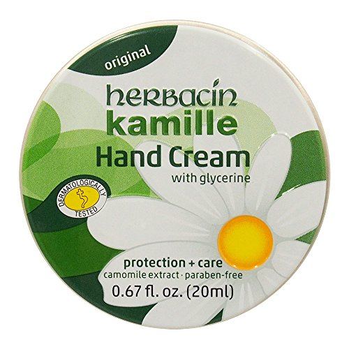 Herbacin WUTA KAMILLE Glycerine HANDCREAM TIN For Protection & Care 20ml by Herbacin