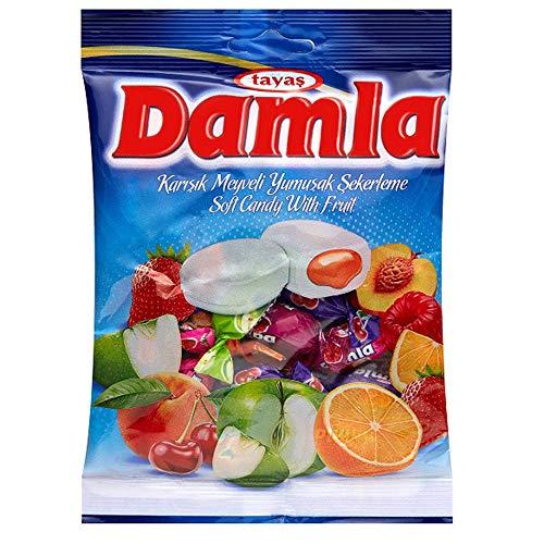 ダムラ フルーツソフトキャンディ アソート 90g(約19粒入)×4袋