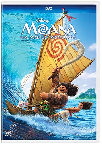 Moana Um Mar Aventuras DVD