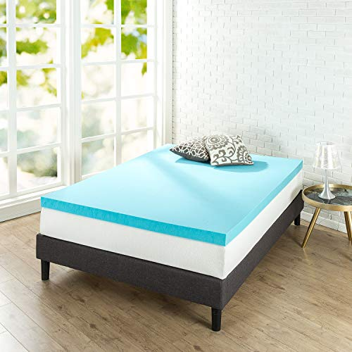 Zinus OLB-MGT-300T  3 Inch Gel Memory Foam Mattress Topper, Twin