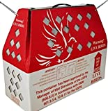 Live Bird Shipping Boxes (10pk) Horizon Chickens Poultry Gamefowl