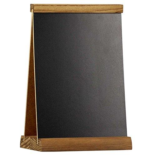 Druckspezialist Tischaufsteller Edinburgh A4 beidseitig beschreibbar Werbetafel Holztafel Kreidetafel