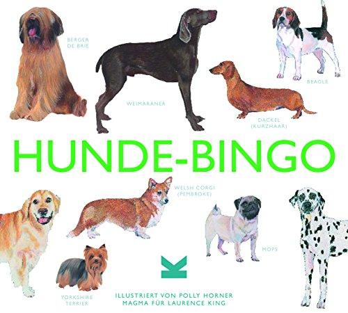 Laurence King Verlag GmbH Hunde-Bingo Brettspiel, Green