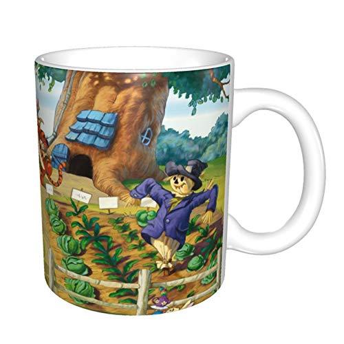 Winnie The Pooh Taza de café de cerámica para el día del padre (330 ml) para papá, regalo de cumpleaños o hijo o hija, regalo de esposo de esposa