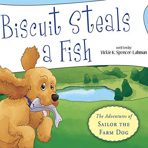 Biscuit Steals a Fish audiobook cover art