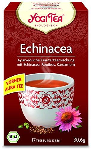 10 x Yogi Tee BIO Echinacea Aura (=10er Pack) (frachtfreie Lieferung in DE)