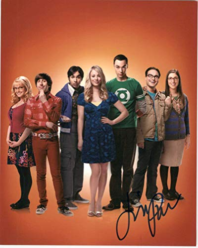 Jim Parsons Signed Autographed 'The Big Bang Theory' Glossy 8x10 Photo - COA Matching Holograms