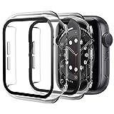 Diruite 2 Pièces Coque pour Apple Watch Series 6/5/4/SE Protection Écran,Dur PC Matériel...