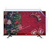 Filtro mate antideslumbrante para TV de 32 a 75 pulgadas, accesorios PS5 Oled Led Lcd Tv Protector de pantalla Película para interior y exterior, fácil de instalar, 75 pulgadas 1682 x 966