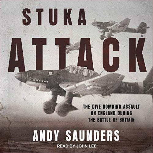 Stuka Attack audiobook cover art