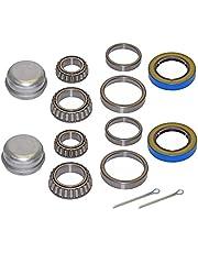 """Rigid Hitch Par de Remolque rodamientos Kits de reparación para 1–3/8""""a 1–1/16Pulgadas Tapered husos"""