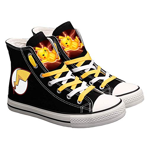 Pokémon Zapatos de Lona Zapatos de Lona Unisex Zapatos Deportivos 4