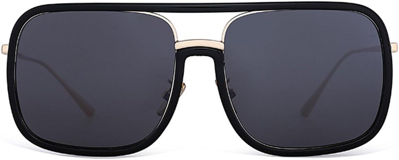 YUBINtaiyangjing The Celebrity The Same Paragraph Sunglasses Female Personality Tide Sunglasses Net Red Glasses Personality AvantGarde Glasses (color   B)