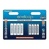 Panasonic Eneloop AA + AAA Eneloop Combination NiMH Ready to Use Rechargeable Batteries