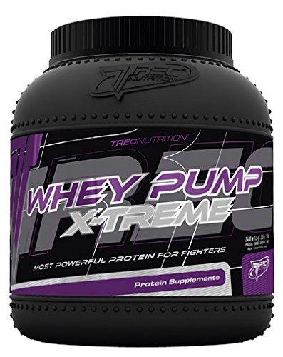 Trec Nutrition Whey Pump Extreme Molkenprotein Schnellere Regeneration Mit Kreatin Und AAKG Supplement Bodybuilding 1800g (Cookies - Kekse)