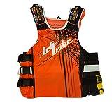 UR-20 Spike Side Entry Vest, Jet Ski Life Jacket Race Vest PWC Jetski Watercraft Jet Ski Accessories (Neon Orange, XXS/XS)