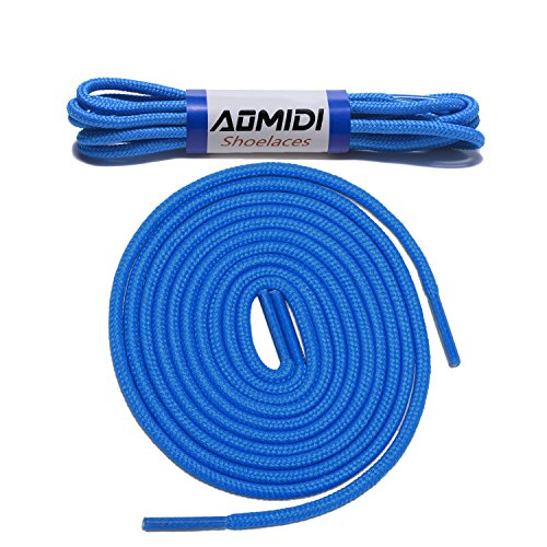 Shoelaces Round Athletic Shoes Lace 2 Pair  for Shoe and Boot Laces Shoelaces Replacements 40quot inches 102 cm Blue