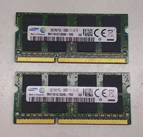 Samsung ram Memory Upgrade DDR3 PC3 12800, 1600MHz, 204 PIN, SODIMM for 2012 Apple MacBook Pro's, 2012 iMac's, and 2011/2012 Mac Mini's (16GB kit (2 x 8GB))