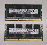 Samsung ram Memory Upgrade DDR3 PC3 12800, 1600MHz, 204 PIN, SODIMM for 2012 Apple MacBook Pro's, 2012 iMac's, and 2011/2012 Mac Mini's (16GB kit (2 x 8GB))